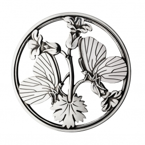 Sterling Silver Moonlight Blossom Brooch
