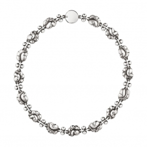 Sterling Silver Moonlight Grapes Necklace