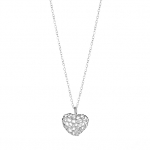 Sterling Silver Small Heart Pendant