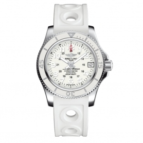 Superocean II 36 White Ladies Automatic Watch