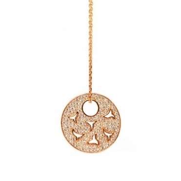 Rose Gold Universal Flame Pendant