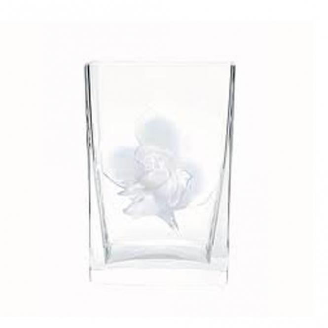 Lalique Rose Vase Opalescent