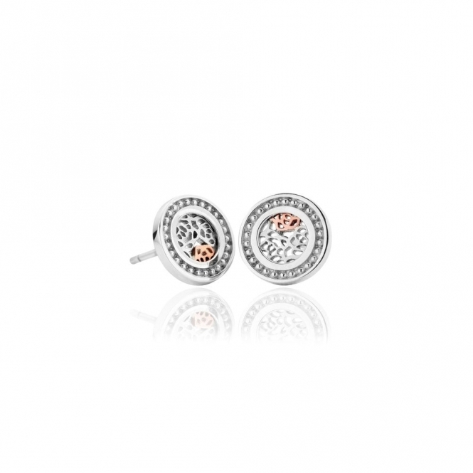Royal Roses Stud Earrings