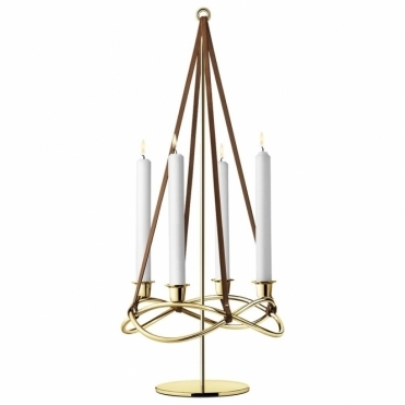 Season Gold Candleholder Extension