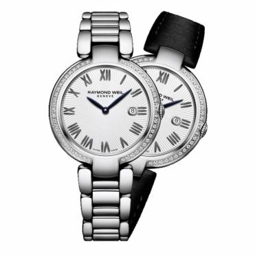Shine ladies 32mm Quartz Watch with Diamonds and Interchangeable Straps