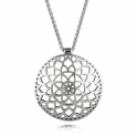 Silver Alban Chantry Chapel Pendant