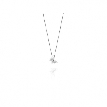 Silver Butterfly Pendant and Chain
