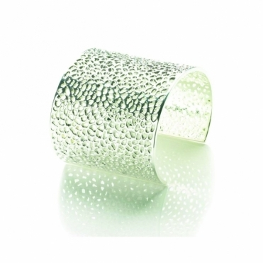 Silver Enkai Cuff Bangle