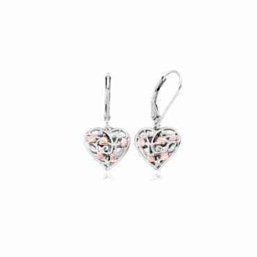 Silver Fairy Drop Earrings