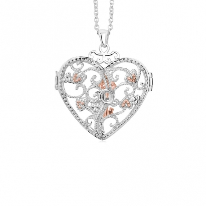 Silver Kensington Locket Pendant