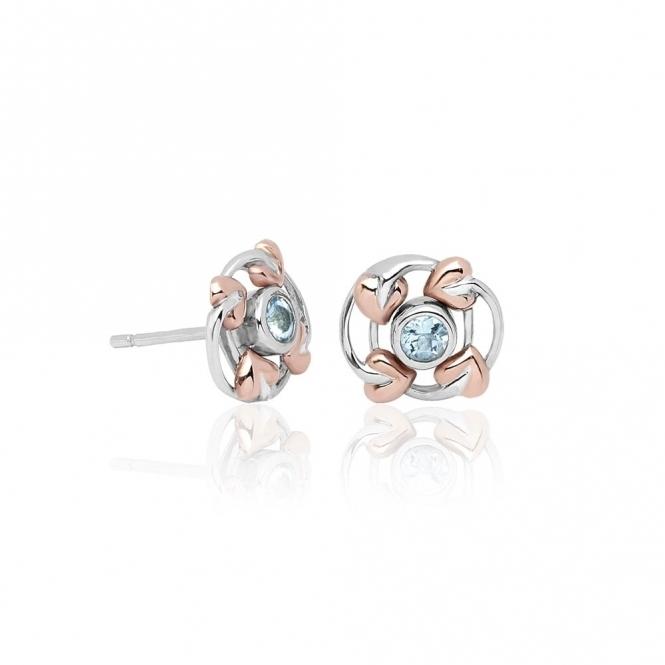 Silver Love Vine Earrings