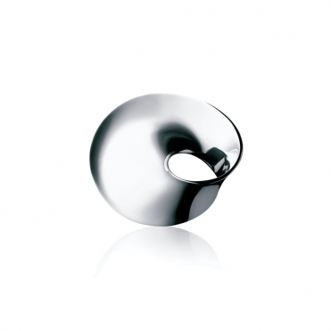 Silver Mobius Brooch