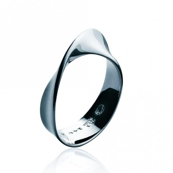 Silver Mobius Ring