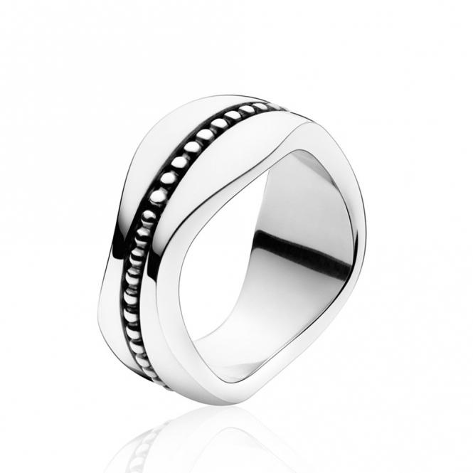 Silver Modern Ring 574B