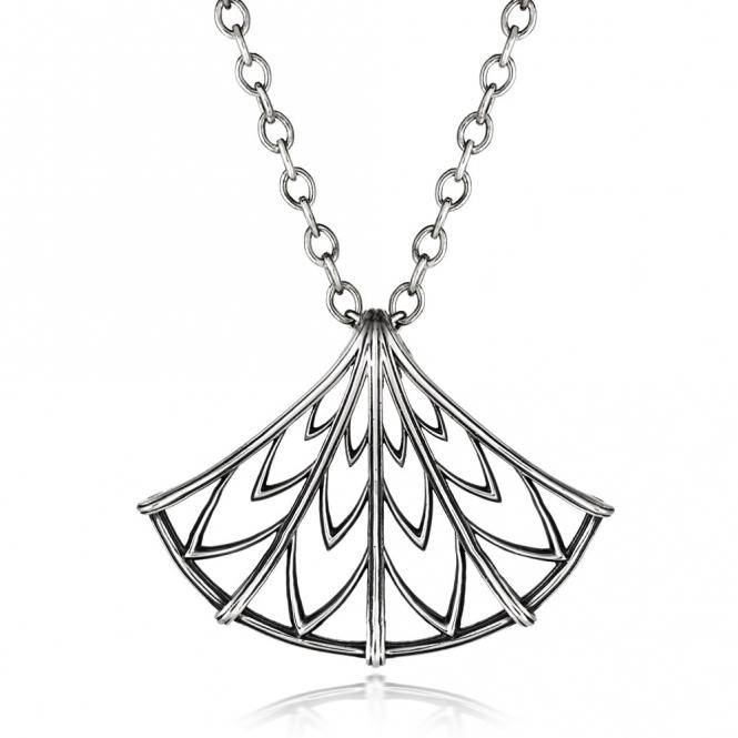 Silver Oxidised Alban Ramryge Pendant