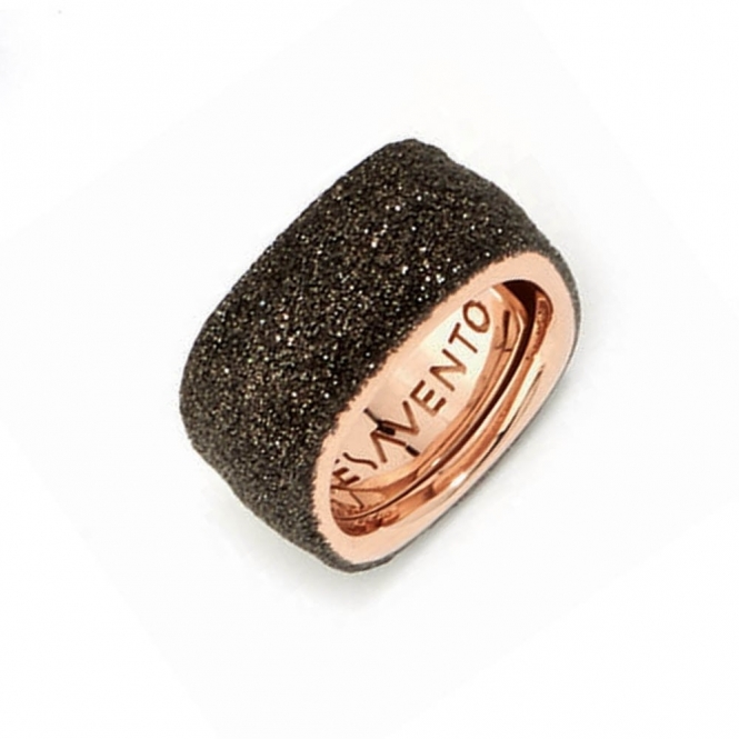 Silver & Pink Gold Polvere di Sogni Soft Ring