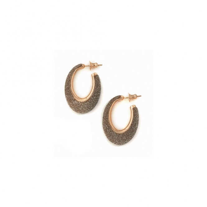 Silver & Pink Polvere di Sogni Soft Earring