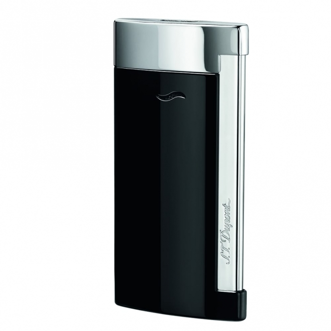 Slim 7 Gas Lighter in Black Lacquer