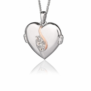 Spirit of Christmas Swarovski Topaz Locket