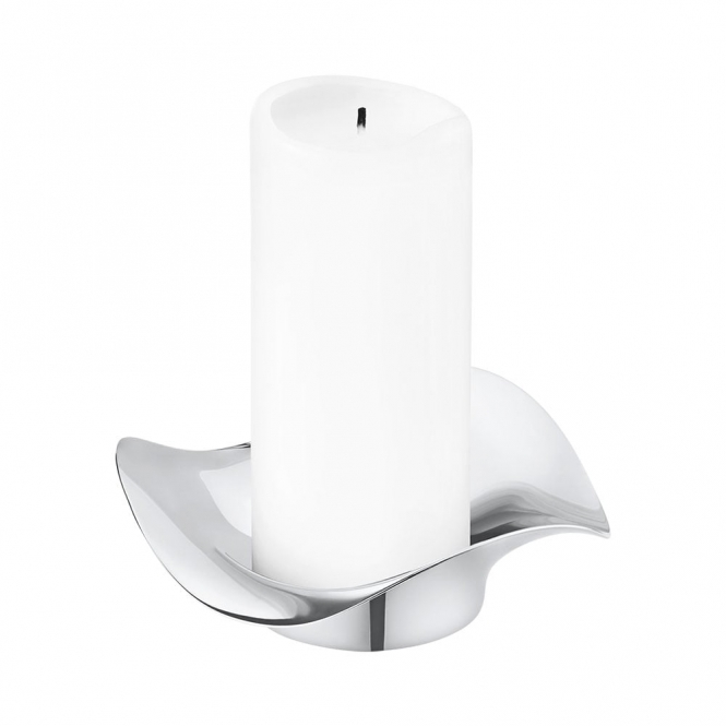 Stainless Steel Cobra Candleholder