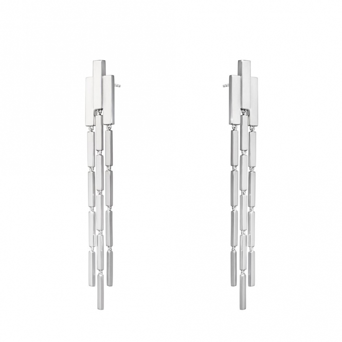 Sterling Silver Aria Chandelier Earrings