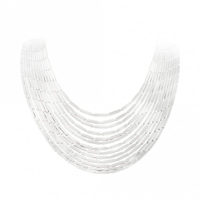 Sterling Silver Aria Layered Necklace