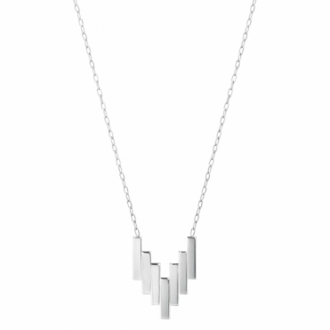 Sterling Silver Aria V Pendant