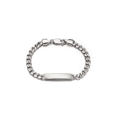 Sterling Silver Bailey Boys Curb ID Bracelet
