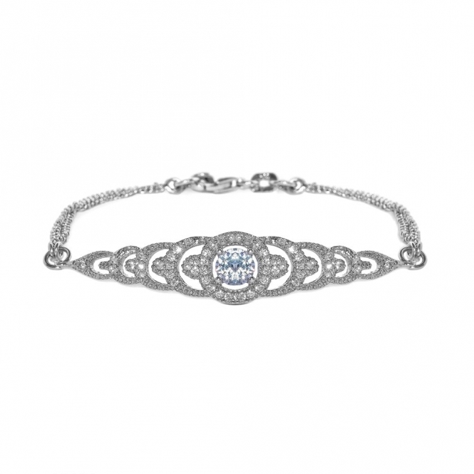 Sterling Silver Brilliance Graduation Bracelet