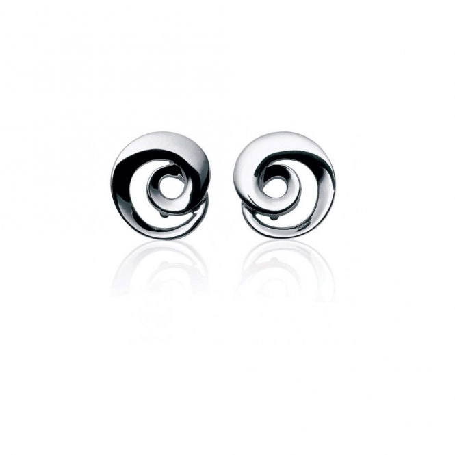 Sterling Silver Continuity Stud Earrings