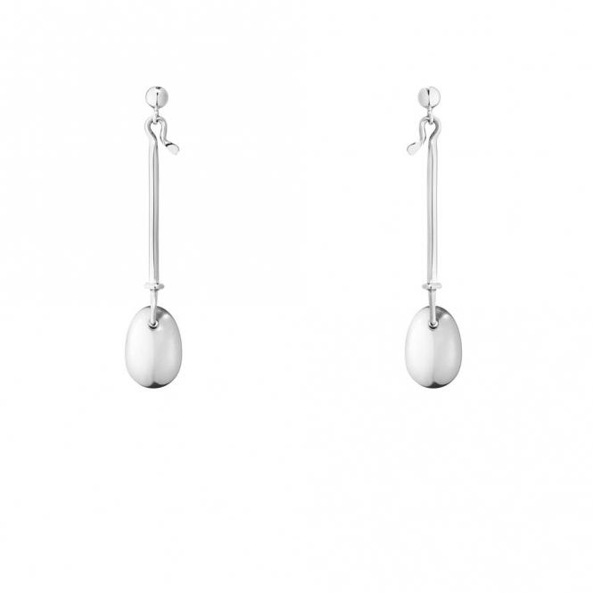 Sterling Silver Dew Drop Earring 128
