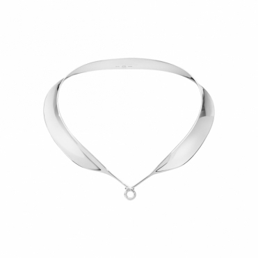 Sterling Silver Dew Drop Neckring
