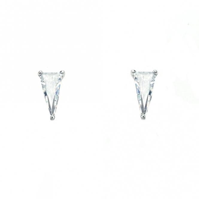 Sterling Silver Elka Stud Earrings