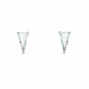 Sterling Silver Elka Stud Earrings