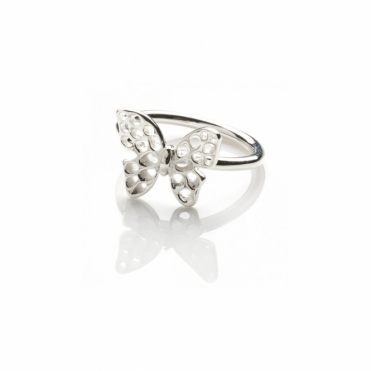 Sterling Silver Flutterby Ring