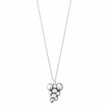 Sterling Silver Grape Pendant