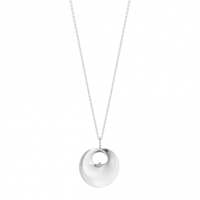 Sterling Silver Hidden Heart Pendant