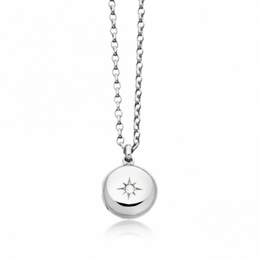 Sterling Silver Little Astley Locket