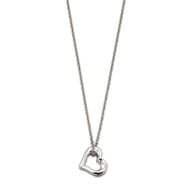 Sterling Silver Lola Small Open Heart Pendant