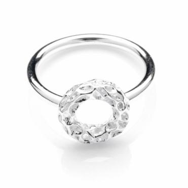 Sterling Silver Memento Allegro Loop Ring