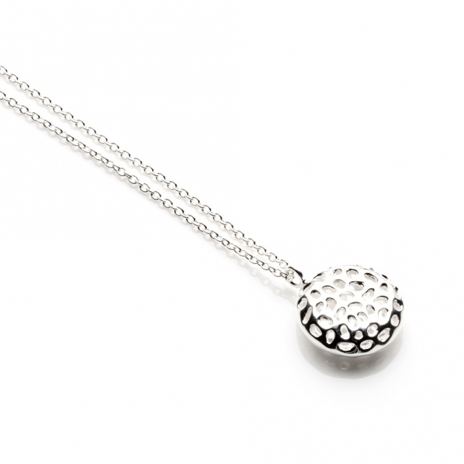 Sterling Silver Memento Disc Pendant