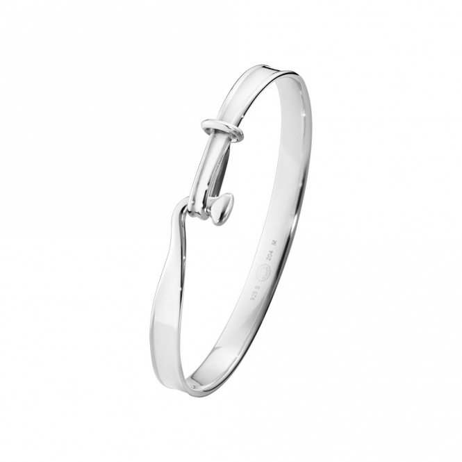 Sterling Silver Men's Torun Bangle