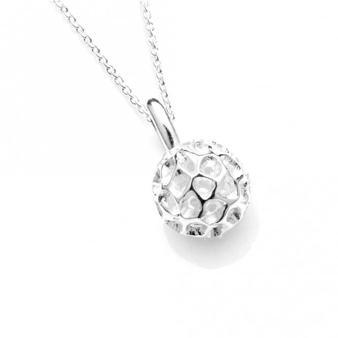 Sterling Silver Mini Globe Pendant