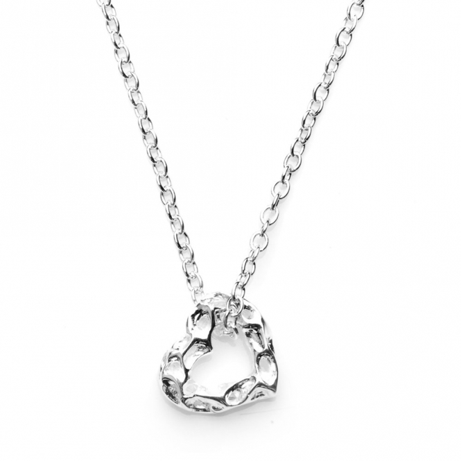 Sterling Silver Mini Heart Pendant