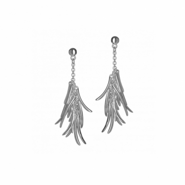 Sterling Silver Molto Earrings