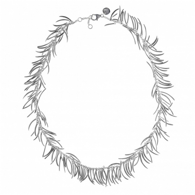 Sterling Silver Molto Necklace