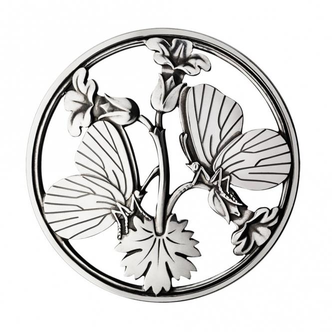 Sterling Silver Moonlight Blossom Brooch