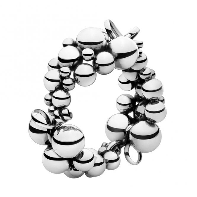 Sterling Silver Moonlight Grapes Bracelet