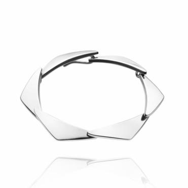Sterling Silver Peak Bracelet (6 Link)