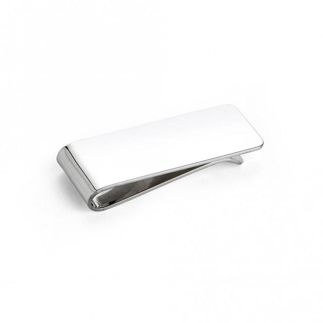 Sterling Silver Plain Money Clip